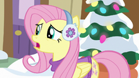 """Fluttershy """"hurt the other foods' feelings"""" MLPBGE"""