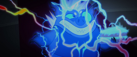 Grubber getting electrocuted by Tempest MLPTM