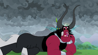 Lord Tirek straightening his jaw S9E25