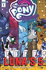 Nightmare Knights issue 1 cover RI