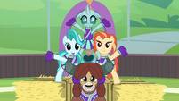 Ocellus joins the pony pyramid S9E15