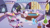 Pony and dragon spa treatment S2E23