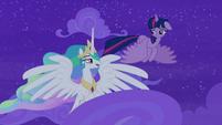 "Princess Celestia ""you really mean that?"" S8E7"