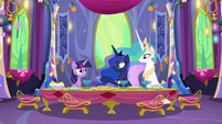 Princess Luna --We so rarely get a chance to relax and just visit-- S6E5
