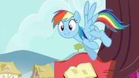 "Rainbow ""in a flash?"" S4E21"
