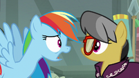"""Rainbow Dash """"quitting and moving away"""" S7E18"""