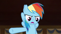 """Rainbow Dash """"she had to get the crown back"""" S7E18"""