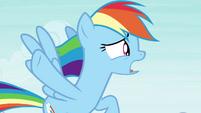 "Rainbow Dash ""slow down the breeze"" S4E16"