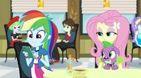 Rainbow Dash using her phone EG2
