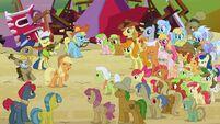S03E08 Applejack zaczyna piosenkę Raise This Barn