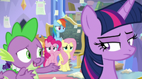 "Spike ""save Equestria without you"" S9E25"