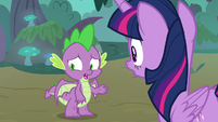 """Spike """"the breakout, the fire burps"""" S8E11"""