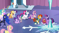 """Sunburst """"with the light and love of everypony gathered"""" S6E2"""