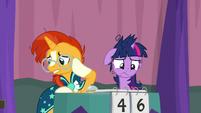 Sunburst and Twilight both feel guilty S9E16