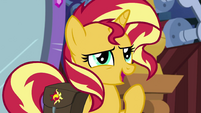 "Sunset Shimmer ""could be a nice distraction"" EGS3"