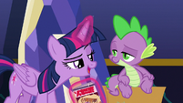 """Twilight """"aren't you glad we triple-checked?"""" S9E26"""