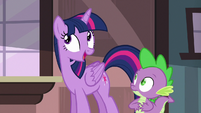 Twilight Sparkle --they'll talk over each other-- S6E22