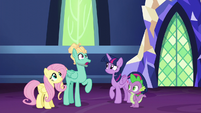 Zephyr Breeze in stunned surprise S6E11