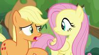"""Applejack """"like talkin' to Angel Bunny?"""" S8E23"""