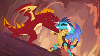 Garble --dragons don't do helping!-- S6E5