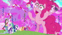 "Pinkie Pie ""everything is made of icing!"" S9E25"