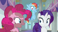 Pinkie Pie -at least we got to go spelunking- S8E15
