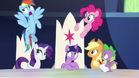 """Rainbow Dash """"you pace and you chart"""" S9E1"""