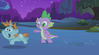 Snips gallops past Spike S1E06