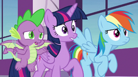 """Spike """"what's the funny part exactly?"""" S9E13"""