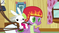 Spike 'Well, I suppose, if you've got other plans' S3E11