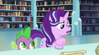 Starlight --Sunburst and I don't have anything in common anyway-- S6E2