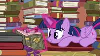 Twilight Sparkle reading S4E09
