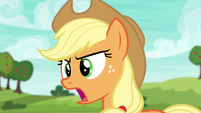 """Applejack shouting """"come on now!"""" S6E18"""
