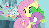 Breezies grumbling at Spike S4E16