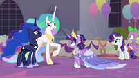 """Celestia """"time for us to be on our way"""" S9E26"""