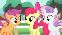 """Cutie Mark Crusaders """"whole bunch of practice"""" S4E05"""