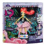 Fluttershy Equestria Girls Ponymania Doll packaging