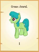 Green Jewel MLP Gameloft.png