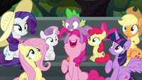 """Pinkie Pie """"I hope there's cotton candy!"""" S6E7"""
