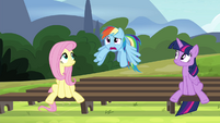 "Rainbow ""I'm totally confused"" S4E21"