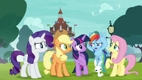 Rainbow -is it supposed to sound like that-- S8E18