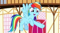 """Rainbow Dash """"what a good friend she is"""" S8E18"""