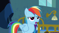 "Rainbow Dash ""yes, ma'am"" S6E7"