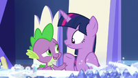 """Spike """"what can we do to help?"""" S7E25"""