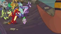 Spike --I am a dragon, after all-- S6E5