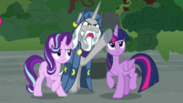 """Star Swirl the Bearded """"know this, fiend!"""" S7E26"""
