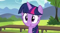 Twilight Sparkle confused S4E21