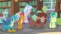 Young Six discouraged by Cozy's words S8E22