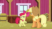 """Apple Bloom """"appeared all by themselves"""" S9E10"""