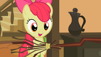 Apple Bloom and a broom S2E12